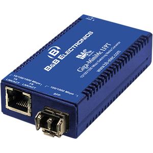 B&B Giga-MiniMc/LFPT, TX/SFP (requires one IE-SFP/1250 Module)