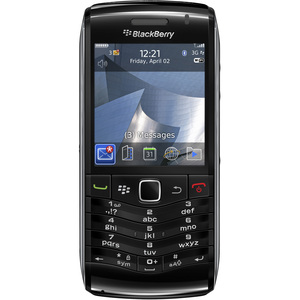 Orange BlackBerry Pearl 9105 Smartphone