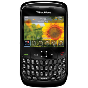 Orange BlackBerry Curve 8520 Smartphone