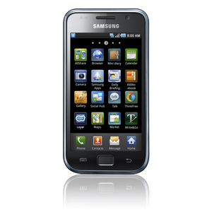 Orange Samsung Galaxy S Smartphone