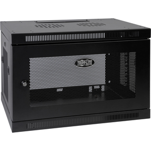 Tripp Lite 9u Wall Mount Rack Enclosure Cabinet W/ Door And Side Panels / Mfr. No.: Srw9u