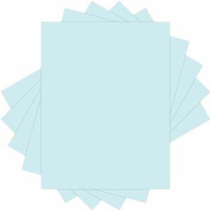 Domtar EarthChoice® Colors Vellum Bristol Cover Stock 67 lb Letter Blue 250/pkg