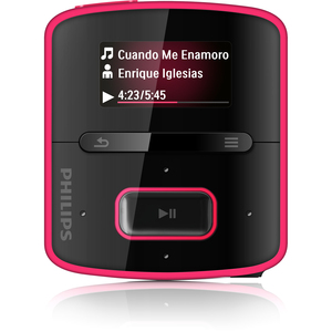 Philips GoGoear RaGa SA3RGA02PN 2GB Flash MP3 Player