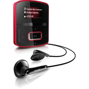 Philips GoGear RaGa SA3RGA02RN 2GB Flash MP3 Player