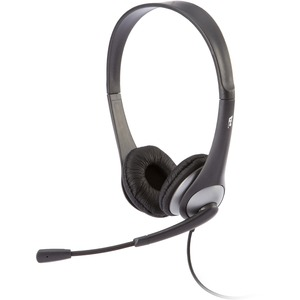 Cyber Acoustics Stereo Headset with Boom Mic / Mfr. No.: AC-204