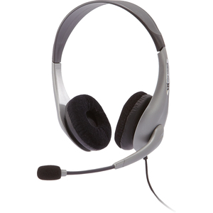 Cyber Acoustics Stereo Headset With Boom Mic / Mfr. No.: AC-404