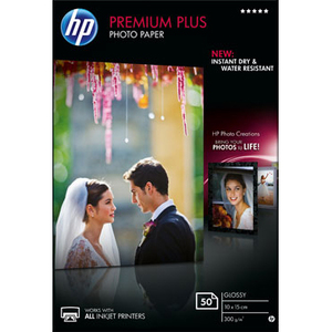 HP Premium Plus Photo Paper - 50 feuille(s) - CR695A