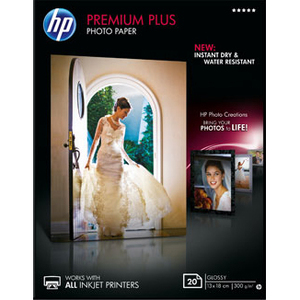 HP Premium Plus Photo Paper  - 20 feuille(s) - CR676A