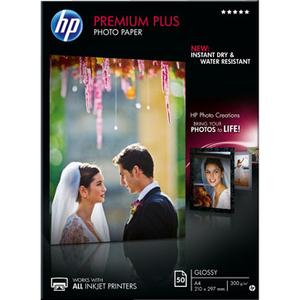 Papier Photo HP Premium Plus - pour Jet d'Encre - CR674A