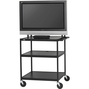 Flat Panel Cart 6-Out Electric 26-42in/75 Lb Fp / Mfr. No.: Fp42ul-E5bk