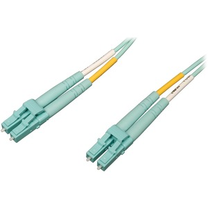 1m 40/100gb Mmf Lc/Lc 50/125 Om4 Lszh Aqua 3 Patch Cable / Mfr. No.: N820-01m-Om4