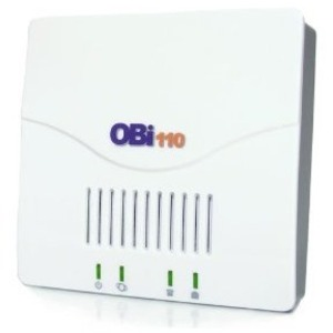 Obihai Universal Voip Adapter Supports 2 Sip Services and Obita / Mfr. No.: Obi110-20