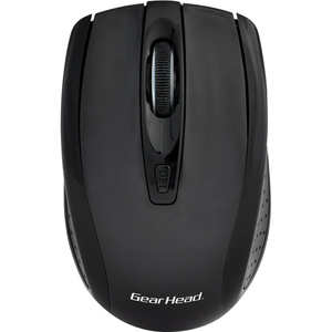 Gear Head 2.4 GHz Wireless Optical Nano Mouse - Black/Black / Mfr. no.: MP2325BLK