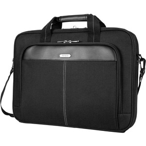 Targus Classic Topload Case Black Polyester Fits Up To 16in / Mfr. No.: Tct027us