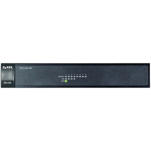 Es1100-8p 8port Unmanaged 10/100 Enet 802.3af Poe Switch / Mfr. No.: Es1100-8p