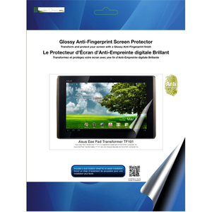 Glossy Anti Fingerprint Screen Protector For Asus Transformer / Mfr. No.: Rt-Spbat01af