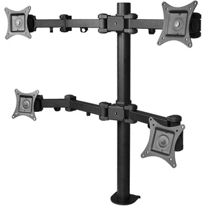 Articulating Quad Monitor Desk Mount For 13in To 27in / Mfr. No.: Ce-Mt0s12-S1