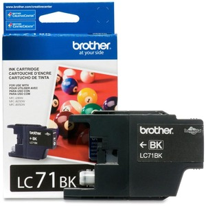 Brother® Inkjet Cartridge LC71BKS Black