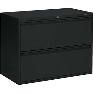 Offices To Go® Lateral File Cabinet 2-Drawer Black
