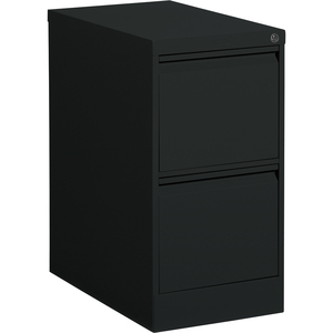 Offices To Go Vertical File 2-Drawer Letter Black