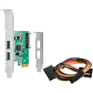 HP 4-port PCI Express USB Adapter