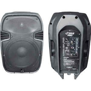 800 Watts 12 Powered 2 Way Pl Astic Molded Speaker System / Mfr. no.: PPHP1285A