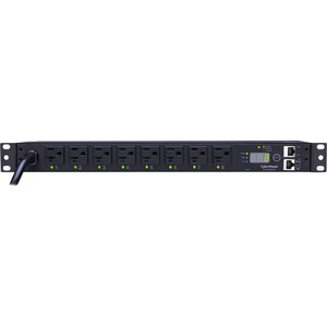 Switched Pdu 120v 20a 1u 8 Out 5-20r 8f Outlet 5-20p 12ft Cord / Mfr. No.: Pdu20sw8fnet