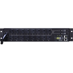 Monitored Pdu 120v 30a 2u 5-20r Out 16f Outlet 5-30p 12ft Cord / Mfr. No.: Pdu30mt16fnet