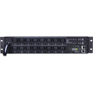 Monitored Pdu 208v 30a 2u 16f Out 12-C13 4-C19 12ft Cord L6-3 / Mfr. No.: Pdu30mhvt16fnet