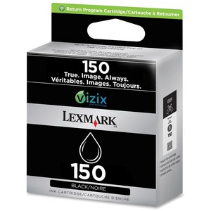 Cart Inkjet #150 Black Lexmark