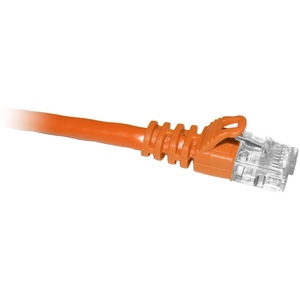 10ft Cat5e 350mhz Orange Molded Snagless Patch Cable / Mfr. No.: C5e-Or-10-M