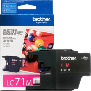 Lc71m Magenta Ink Cartridge For Clr Inkjet Mfcs / Mfr. No.: Lc71m