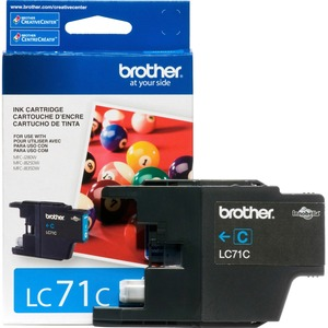 Lc71c Cyan Ink Cartridge For Clr Inkjet Mfcs / Mfr. No.: Lc71c