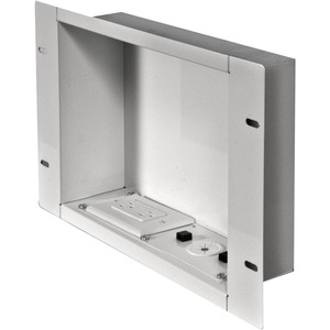 In-Wall Accessories Box With 125v Duplex / Mfr. No.: Iba2ac