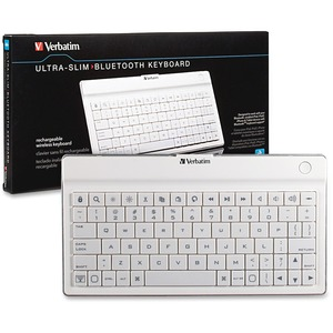 Verbatim Ultra-slim Wireless Keyboard / Mfr. No.: 97754