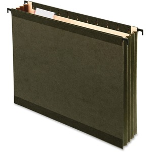 Pendaflex® SureHook Hanging File Pockets Letter Standard Green 4/pkg