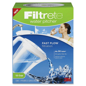 Pitcher Water 12-cup 2.84L Filtrete