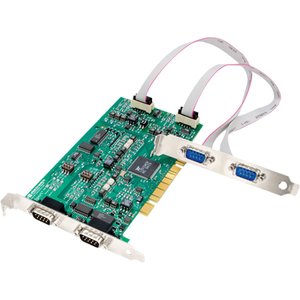 B+B 4 Port Optically Isolated MIPort Universal PCI Card