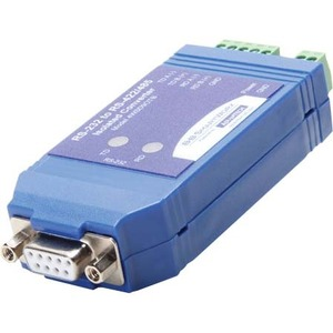 9pin 232/485 Isolated Converter With Terminal Block And LED / Mfr. No.: 4wsd9otb