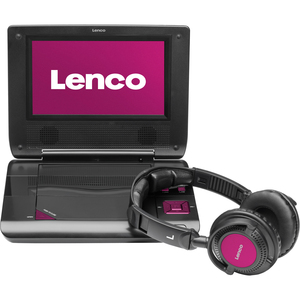 "Lenco DVP-735 7"" Portable DVD Player with USB/SD"