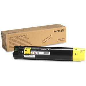 Yellow Toner Cartridge Standard Capacity For Phaser 6700 / Mfr. No.: 106r01505