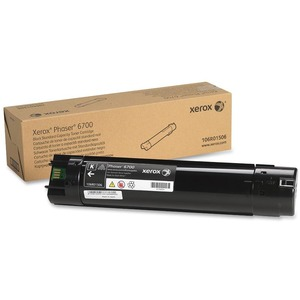 Black Toner Cartridge Standard Capacity For Phaser 6700 / Mfr. No.: 106r01506