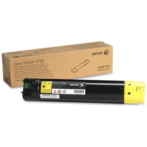 Yellow Toner Cartridge High Capacity For Phaser 6700 / Mfr. No.: 106r01509