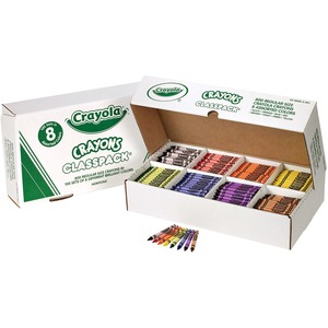 Crayola® Classpack Regular Crayons Assorted Colours 800/cse