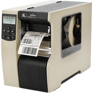 Zebra 110Xi4 Direct Thermal/Thermal Transfer Printer - Monochrome - Desktop - Label Print