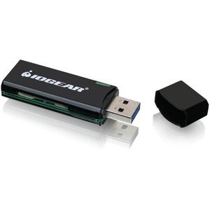 SuperSpeed USB 3.0 SD / MicroSD Card Reader and Writer / Mfr. No.: Gfr304sd