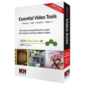 Nch Sw Video Suite Record Capture Edit Video Movies / Mfr. No.: Ret-Vidw001