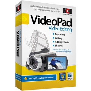 Videopad Video Editing Sw Easily Edit Home Movies Add Eff / Mfr. No.: Ret-Vpw001