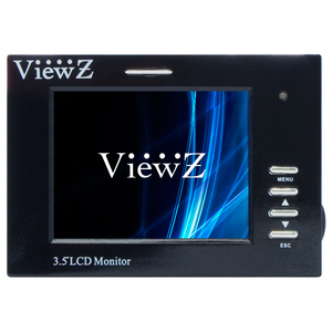 3.5in LCD Test Monitor 320x240 350:1 Bnc Sunlight Readable Tes / Mfr. no.: VZ-35SM