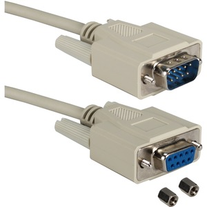 Qvs 6ft Db9 M To F Exten Cable For Serial/Mono/Multisync / Mfr. No.: Cc317-06n